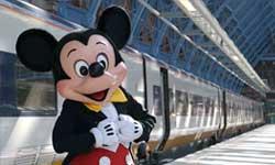 Estacion de tren Disneyland Paris